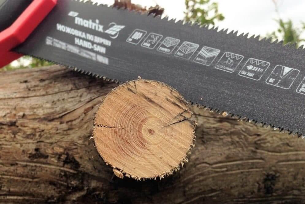 Ножовка по дереву с полотном двустороннего действия