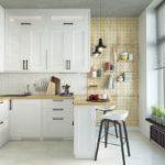 советы по оформлению рабочей зоны на кухне