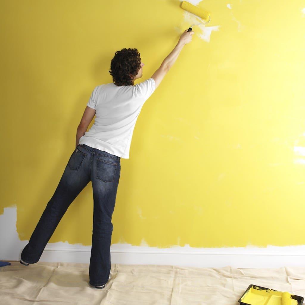 Обои по покраску помогут создать энергичный, яркий, и порой загадочный дизайн интерьера дома