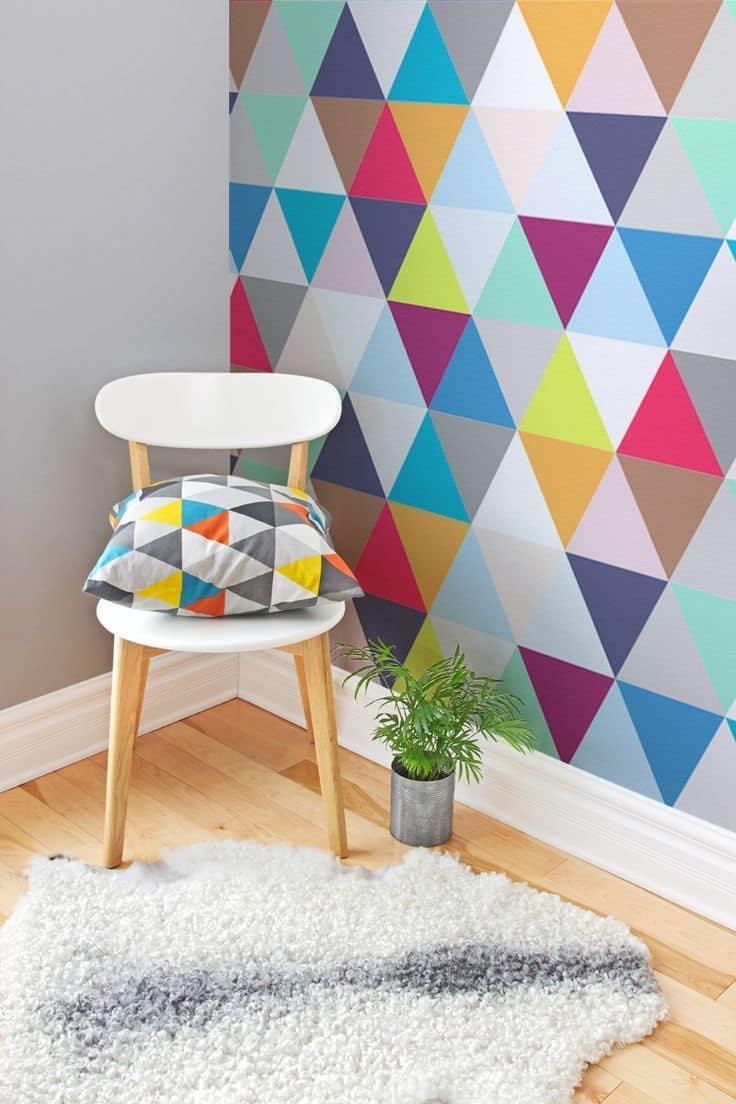 Яркие, контрастные цвета задают тон пространству и положительно повлияют на настроение