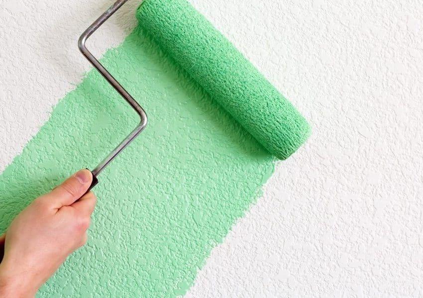 Моющаяся акриловая краска - идеально подойдет для покраски обоев всех типов