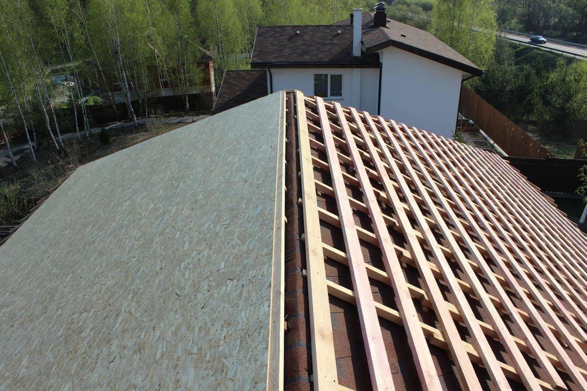 Обрешётка крыши под фальцевую кровлю со сплошным основанием