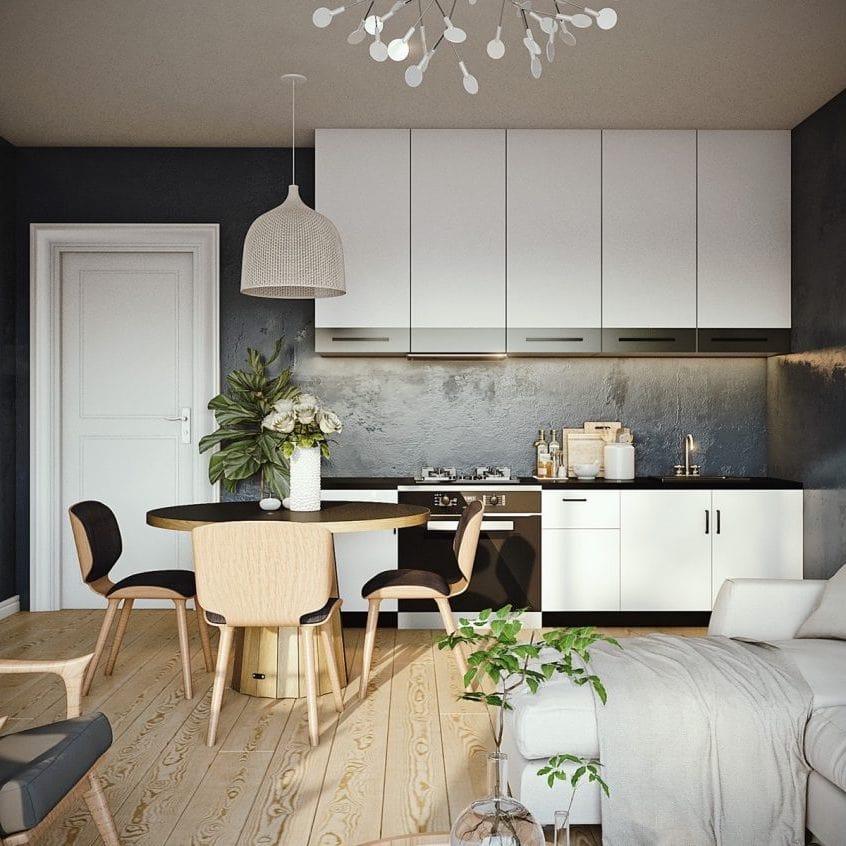Декоративная штукатурка на кухне - это удобство, практичность и надежность
