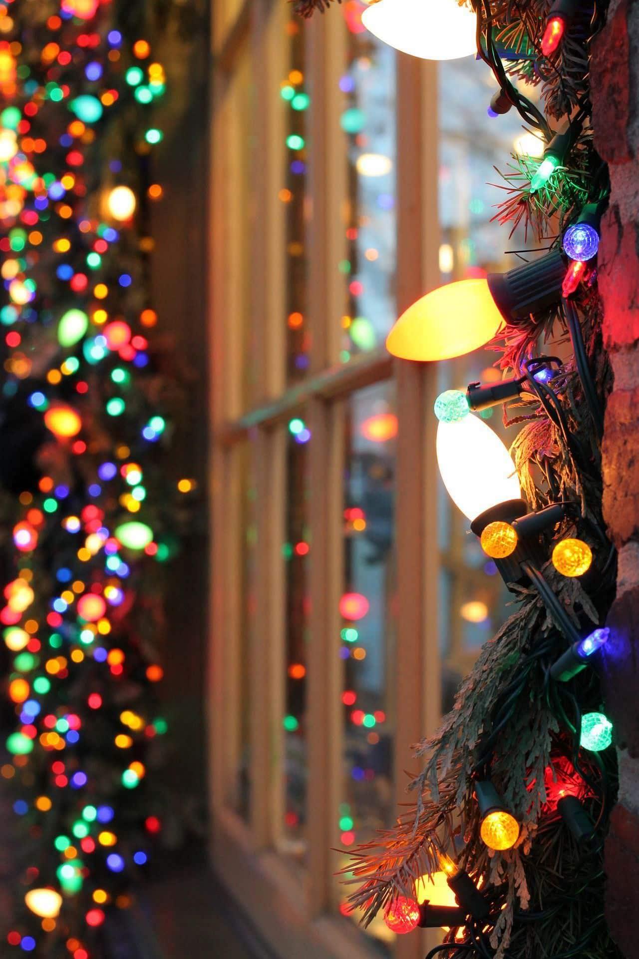 Запах елки и сверкающие огоньки гирлянды создают особую сказочную атмосферу волшебства