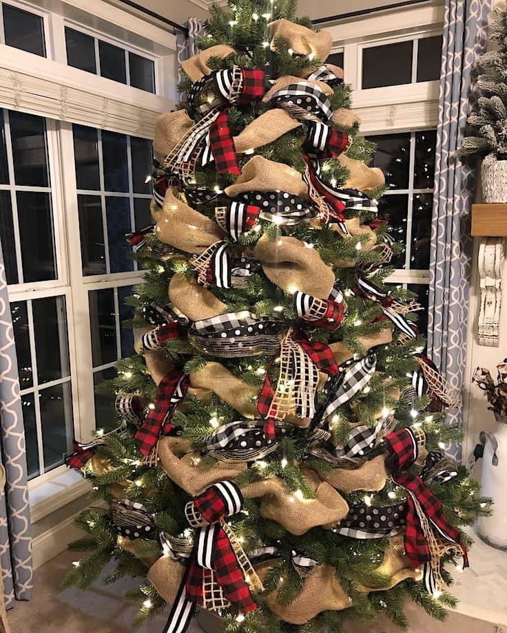 идеи для украшения новогодней елки