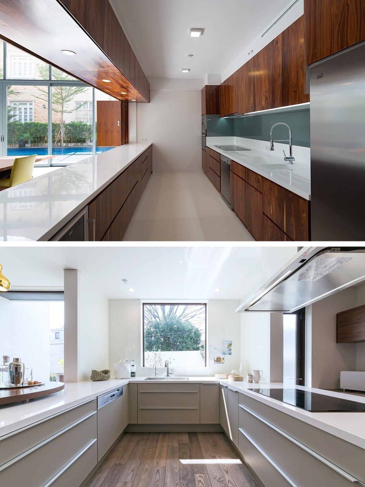 Мебельные фасады для кухни, имеющие интересный цвет, рисунок и фактуру - могут стать ярким акцентом всего помещения