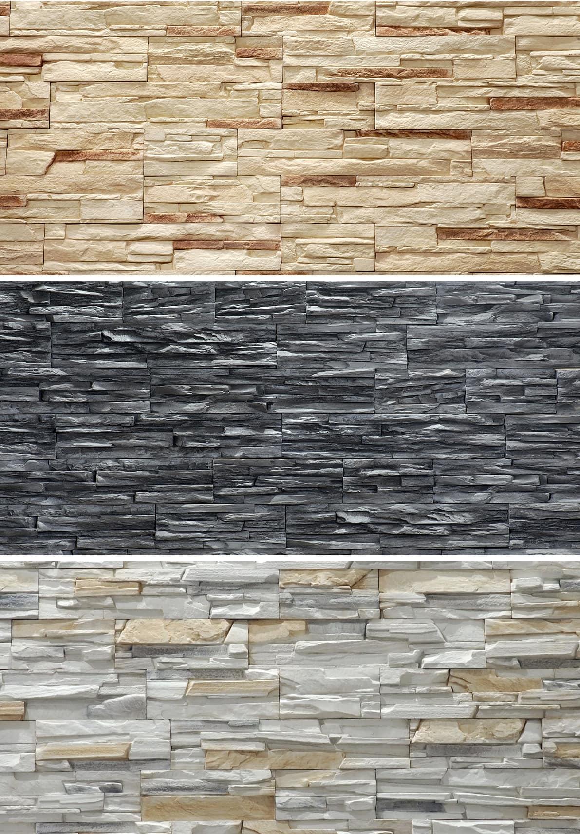 Насыщенный яркий цвет и богатая фактура фасадного камня завоевала огромную популярность среди ценителей оригинальных интерьеров