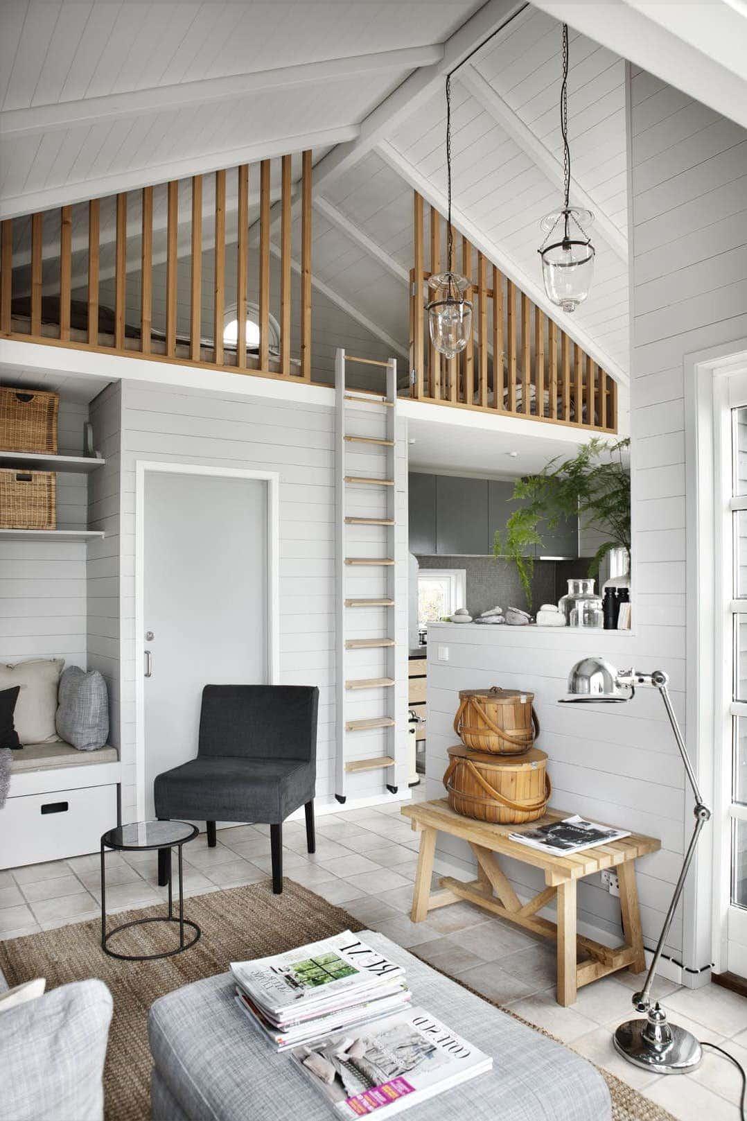 Помимо красоты, скандинавский дизайн гостиной должен обладать максимальной функциональностью и практичностью