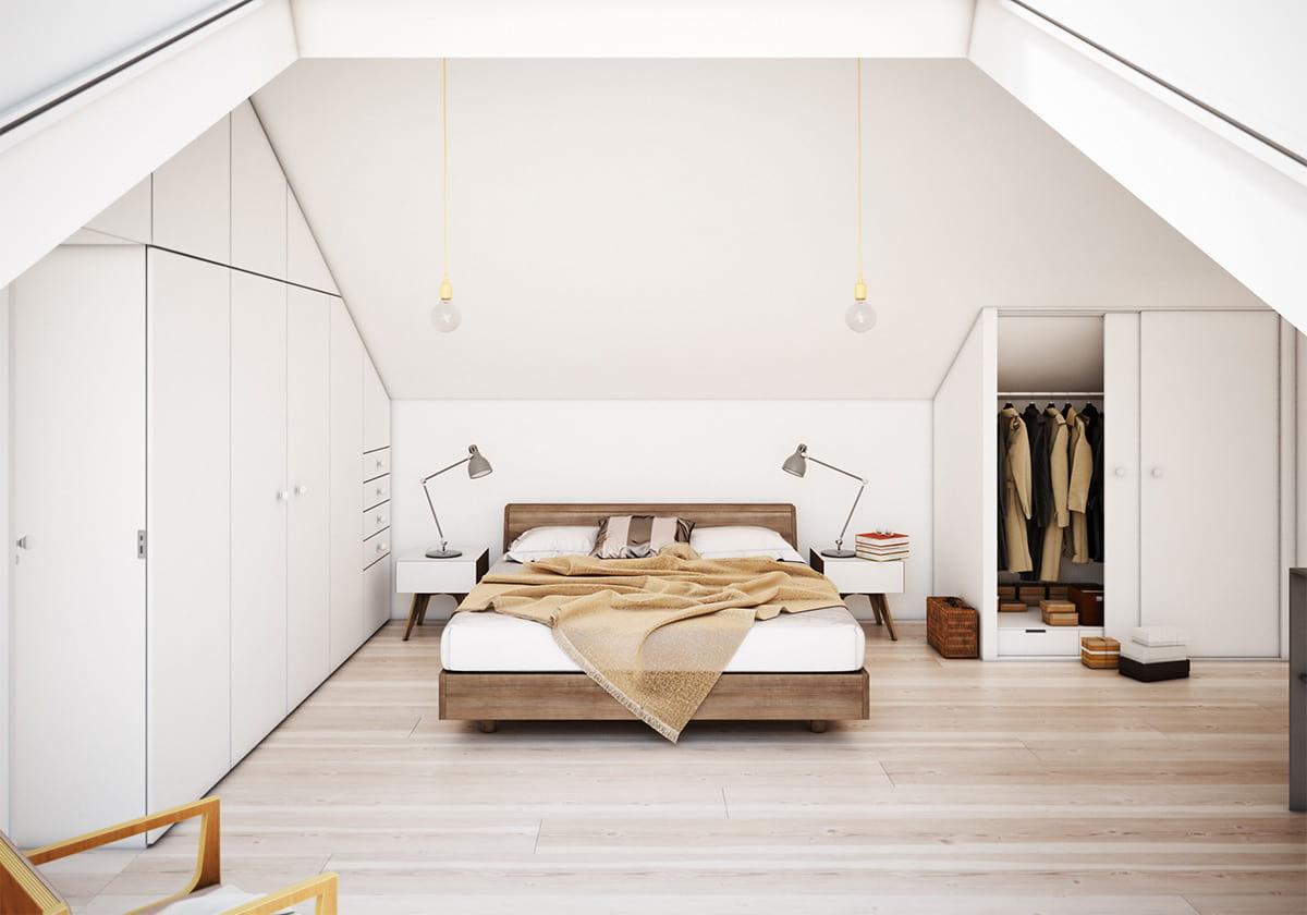 Белый цвет - наиболее экономичное и эстетичное решение для скандинавского дизайна