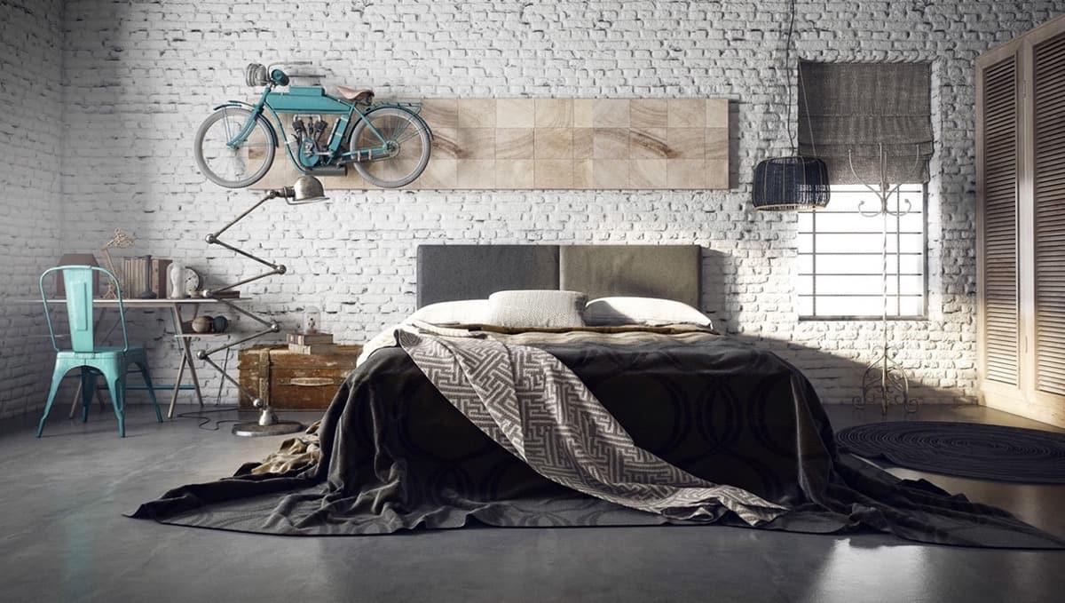 Красивая спальня в которой царит сдержанность, элегантности, уют и комфорт