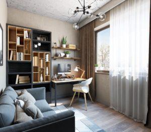 компактный дизайн маленькой комнаты