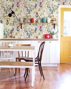 просторная кухня дизайн