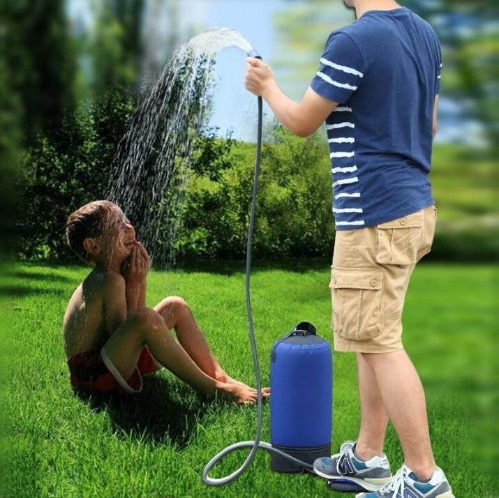 Душ с насосом – отличная альтернатива для тех, кто летом любит быстро освежиться