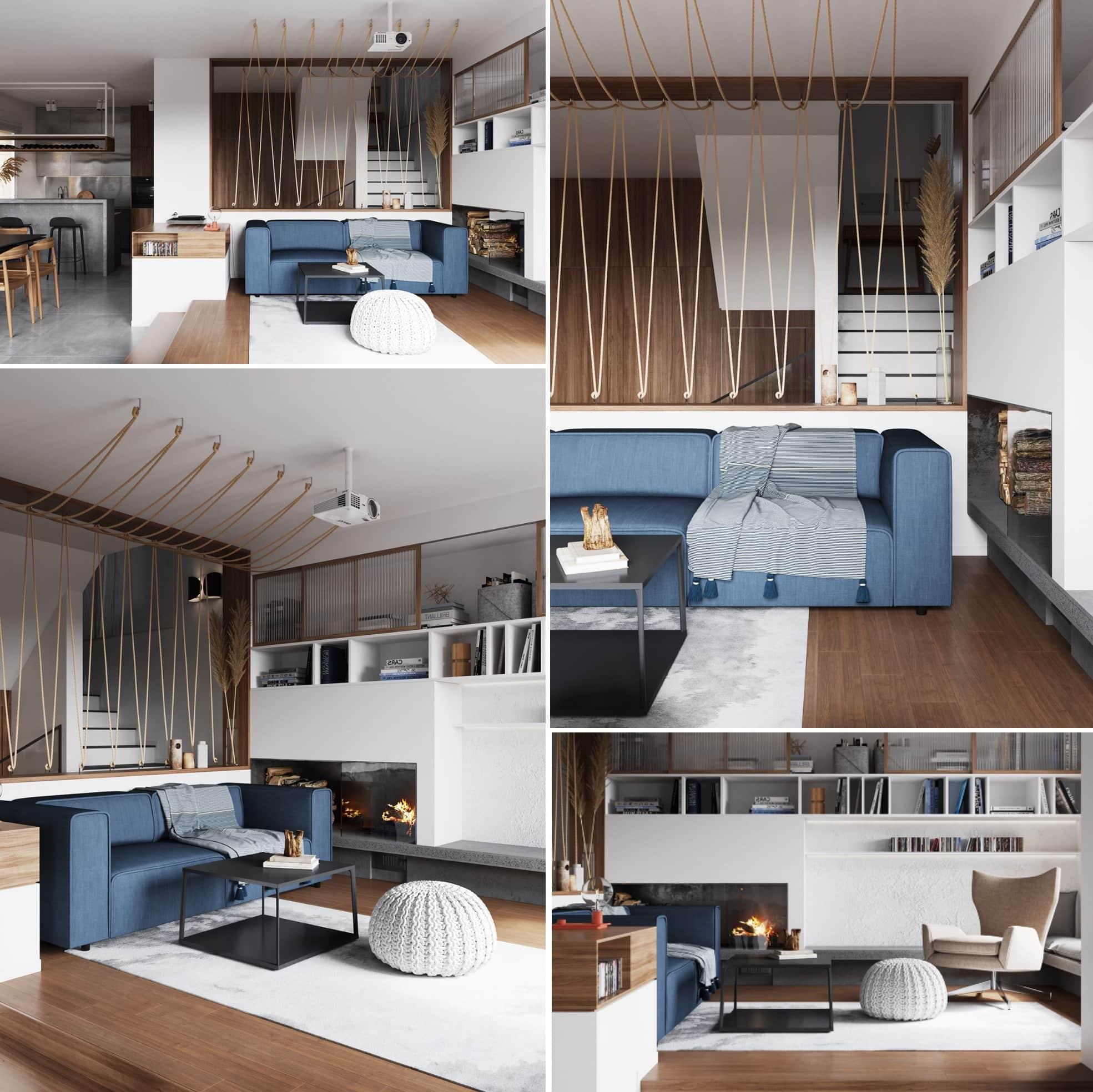 Грамотно организованное пространство квартиры-студии