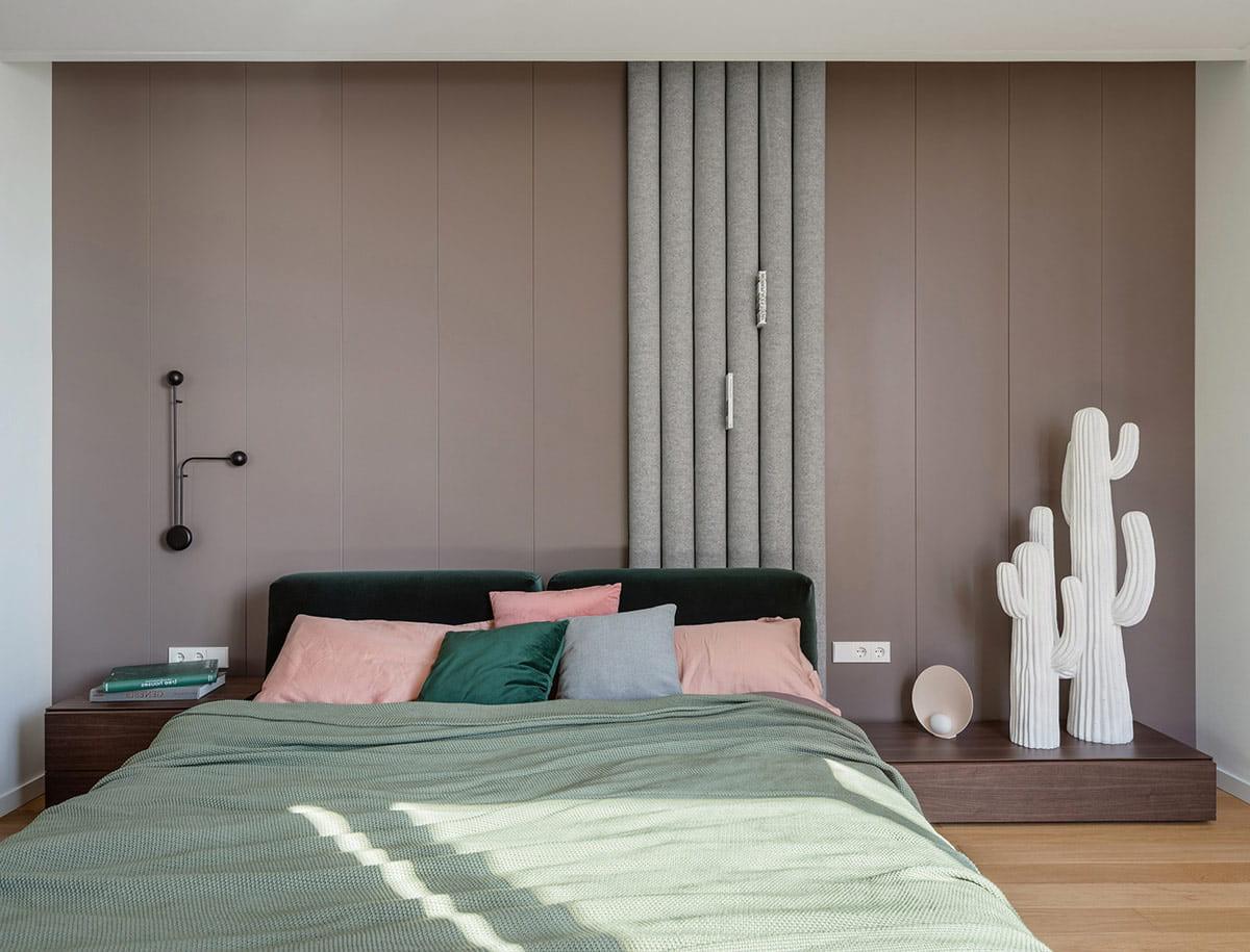 Современная спальня должна отвечать определенным практическим нуждам хозяев