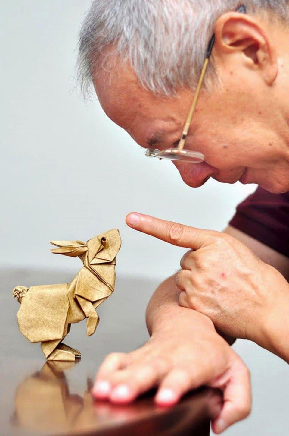 Оригами - сложное, но увлекательное занятие