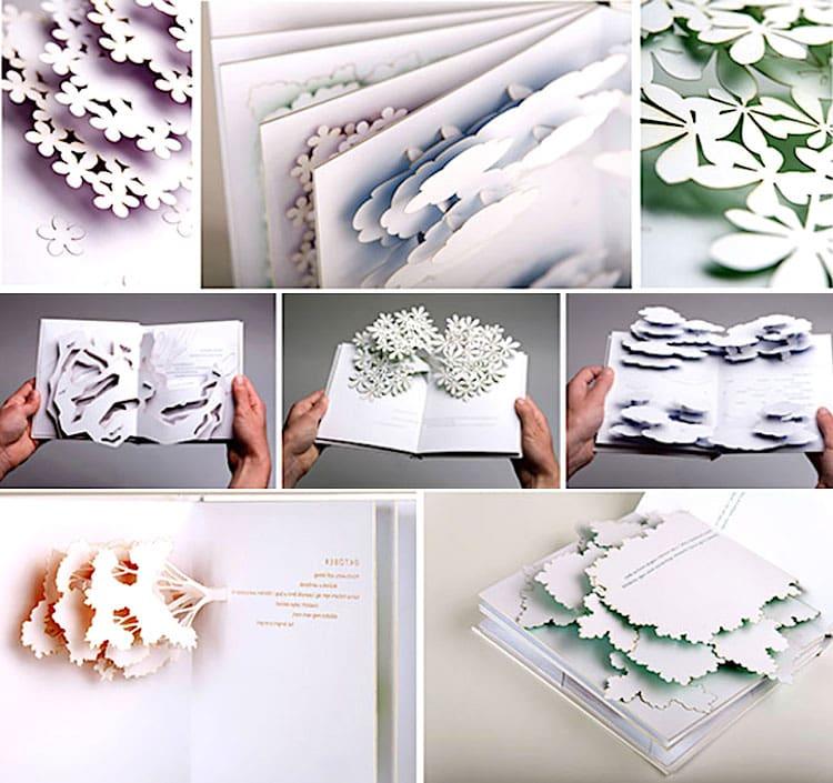 Стильные открытки сделанные в технике киригами