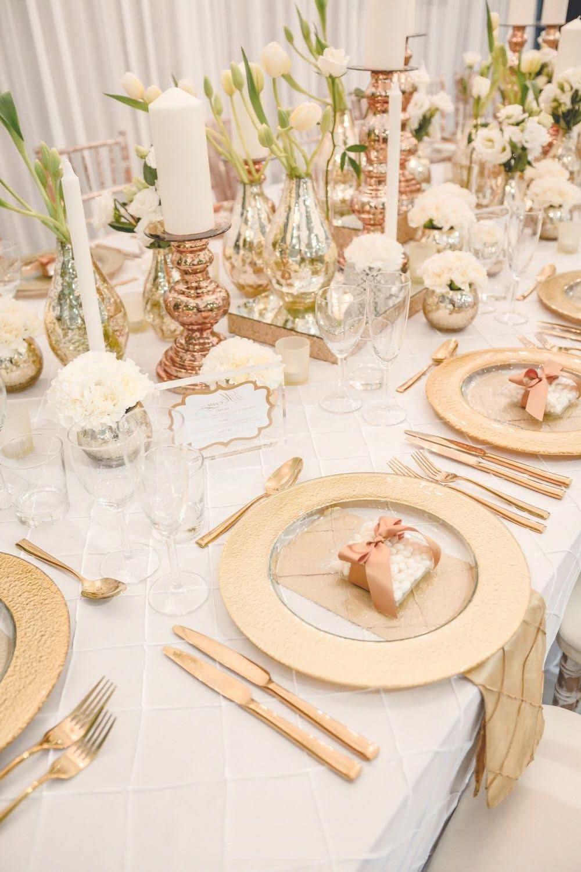 Декор стола к празднику с нотками английского стиля
