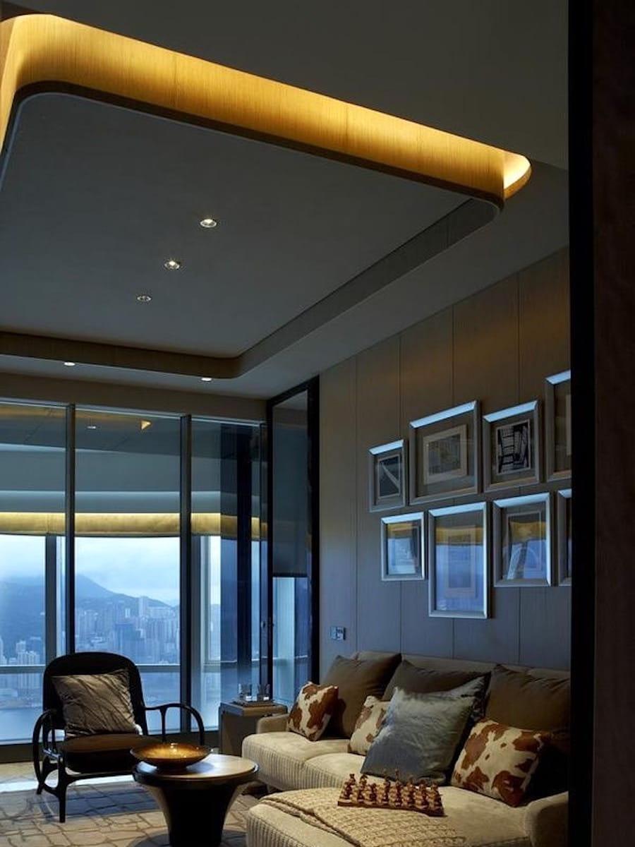 красивый дизайн потолка фото – 1