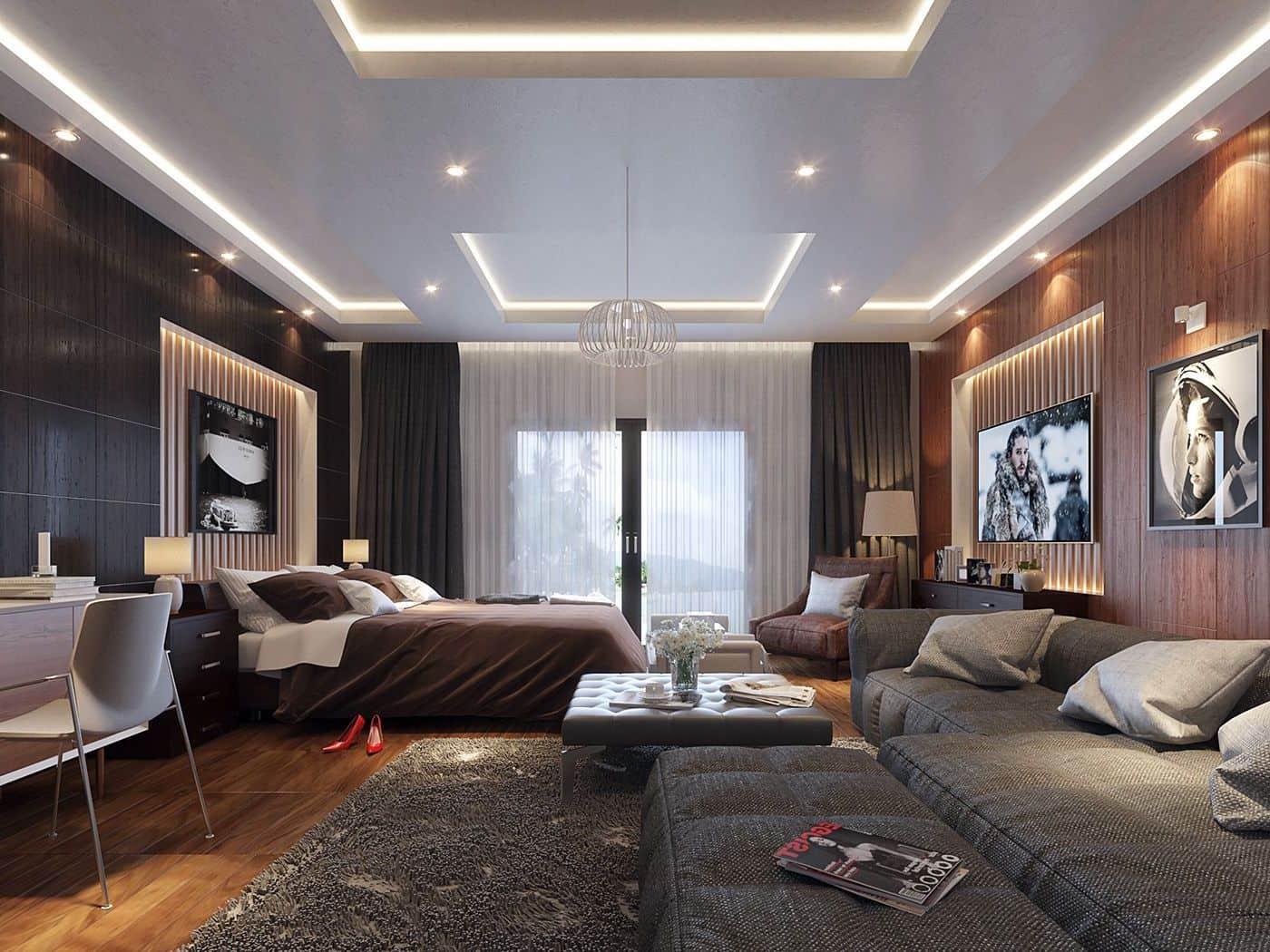 красивый дизайн потолка фото – 16