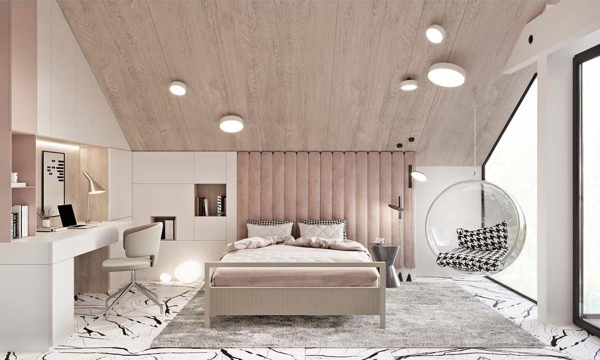 красивый деревянный потолок фото – 42