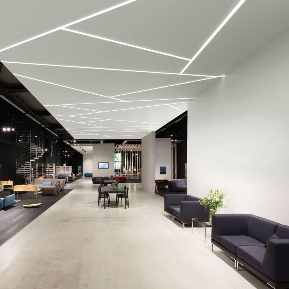 красивый дизайн потолка с подсветкой фото – 27