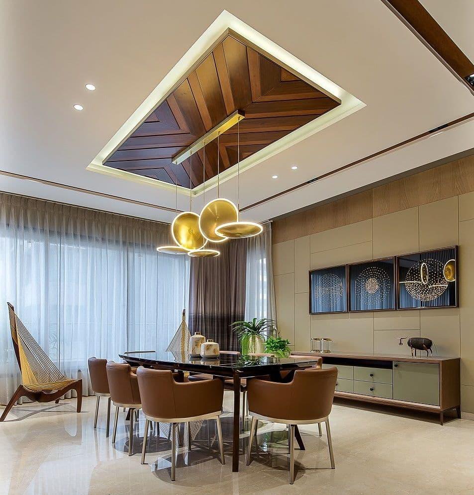 красивый потолок в гостиной фото – 29
