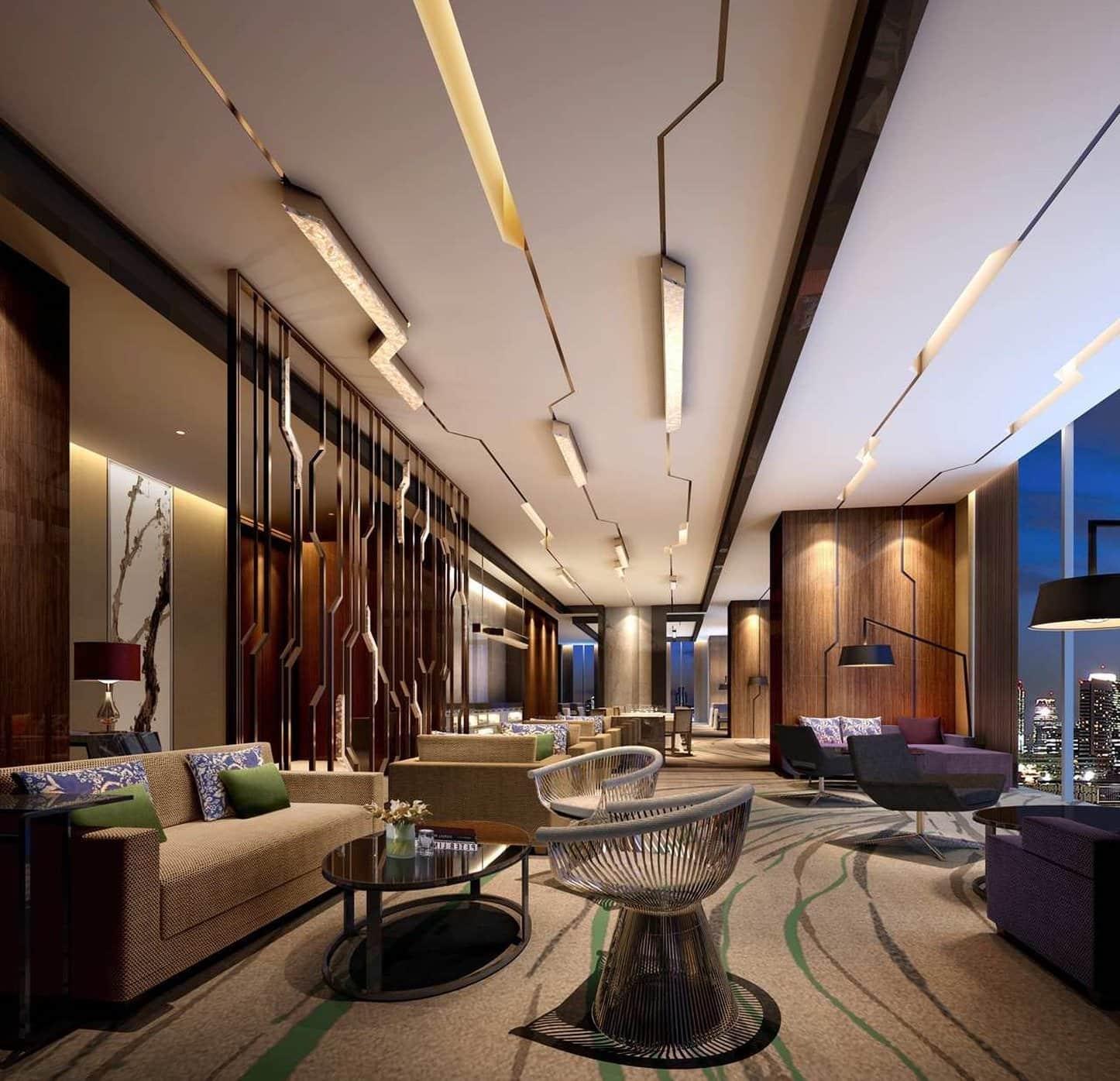 красивый потолок в гостиной фото – 30