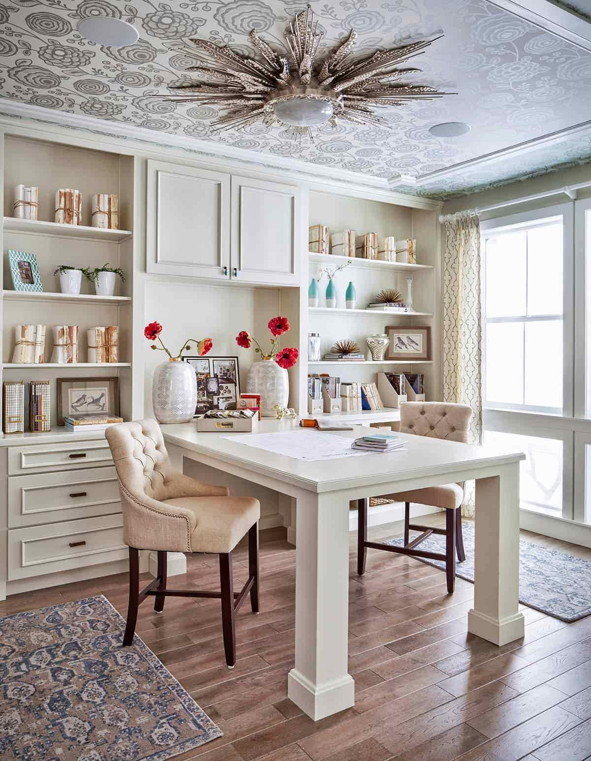 красивый дизайн потолка в квартире фото – 12
