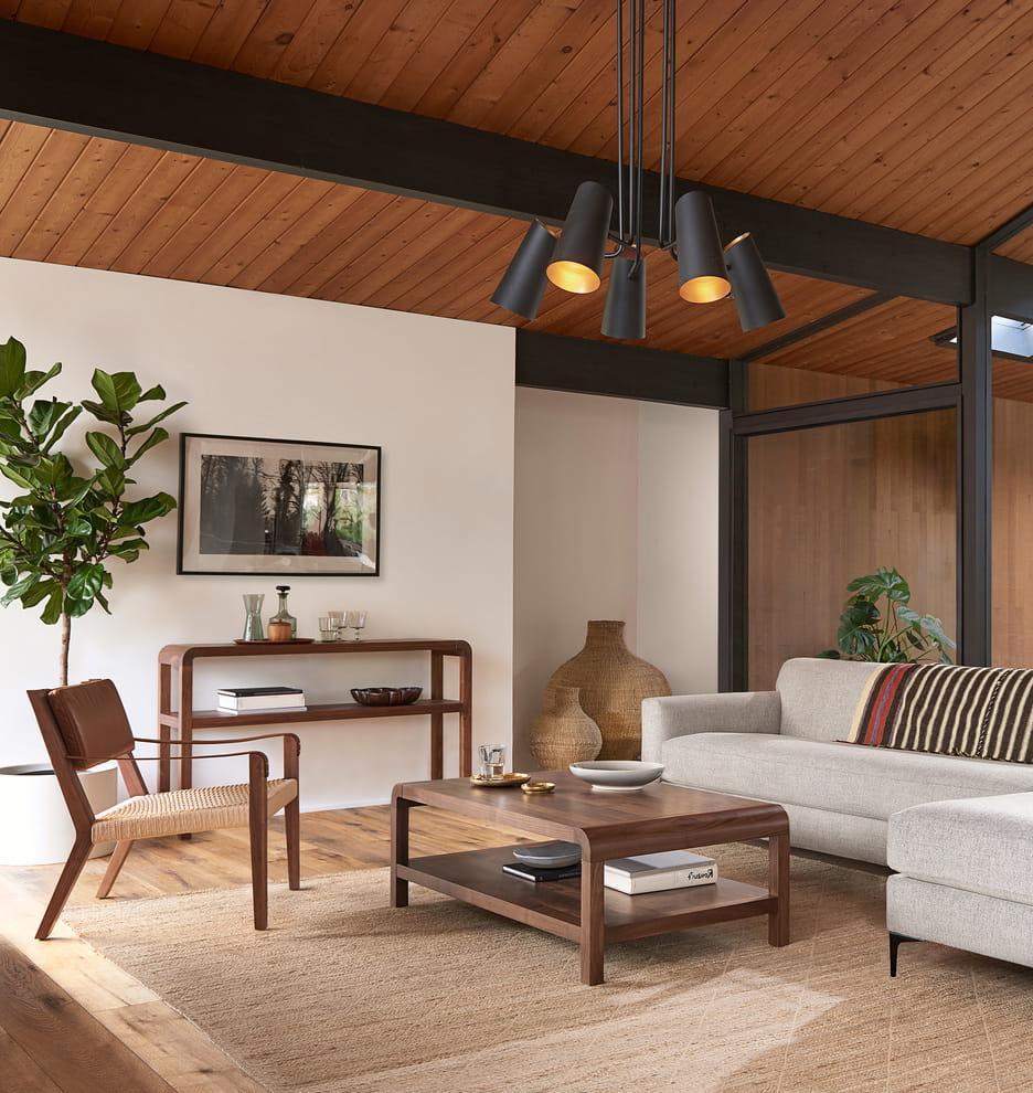 красивый деревянный потолок фото – 41