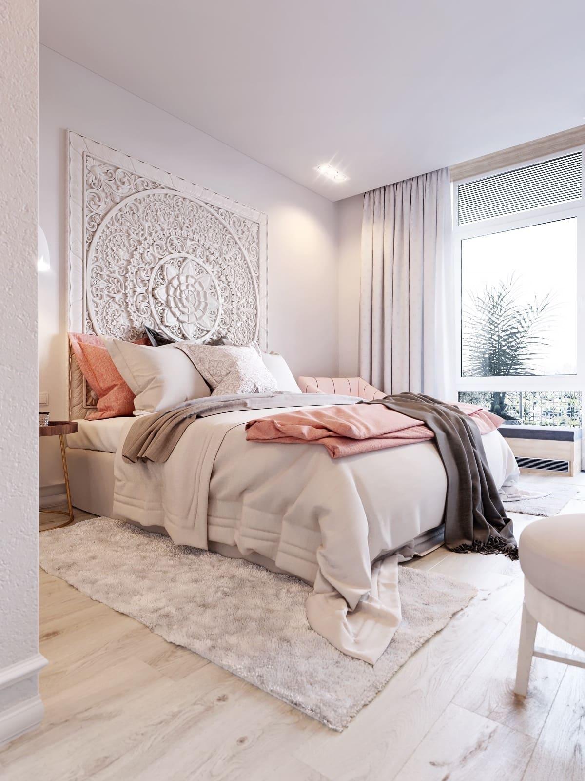 Спать или отдыхать в такой спальне огромное удовольствие