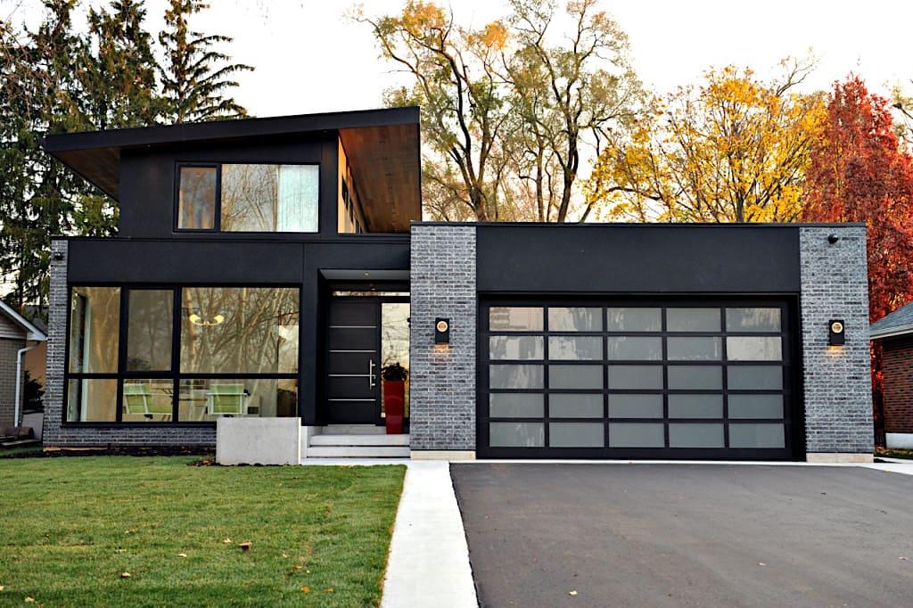 дом с плоской крышей фото 9