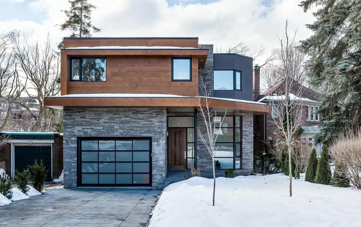 проект дома с плоской крышей фото 46