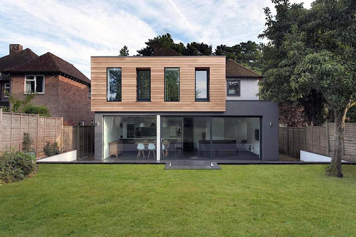 проект дома с плоской крышей фото 47