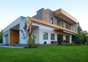 проект дома с плоской крышей фото 60