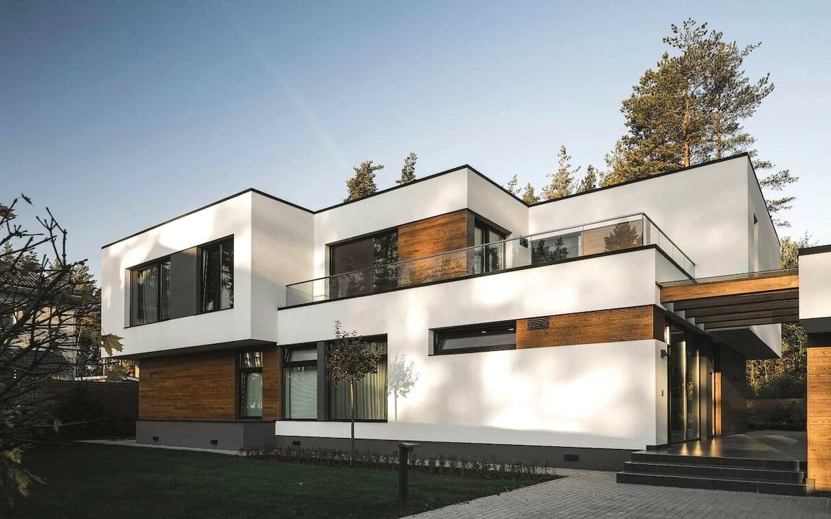 проект дома с плоской крышей фото 41
