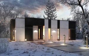 проект дома с плоской крышей фото 63