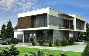 проект дома с плоской крышей фото 65