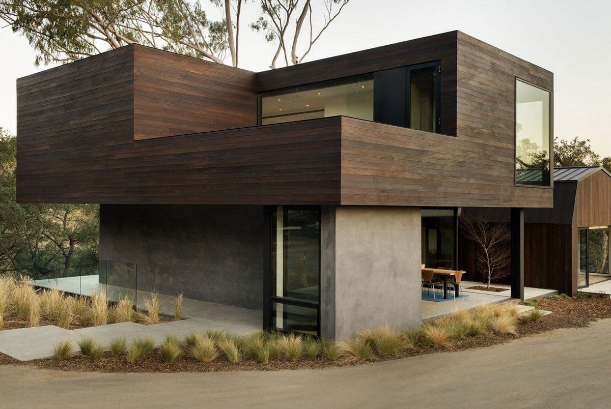 дом с плоской крышей в стиле конструктивизм фото 23