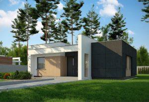 проект дома с плоской крышей фото 55