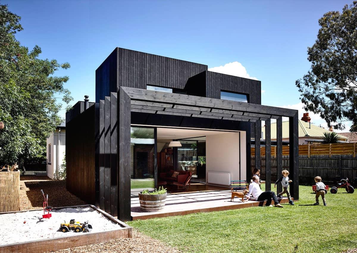 дом с плоской крышей в стиле конструктивизм фото 24