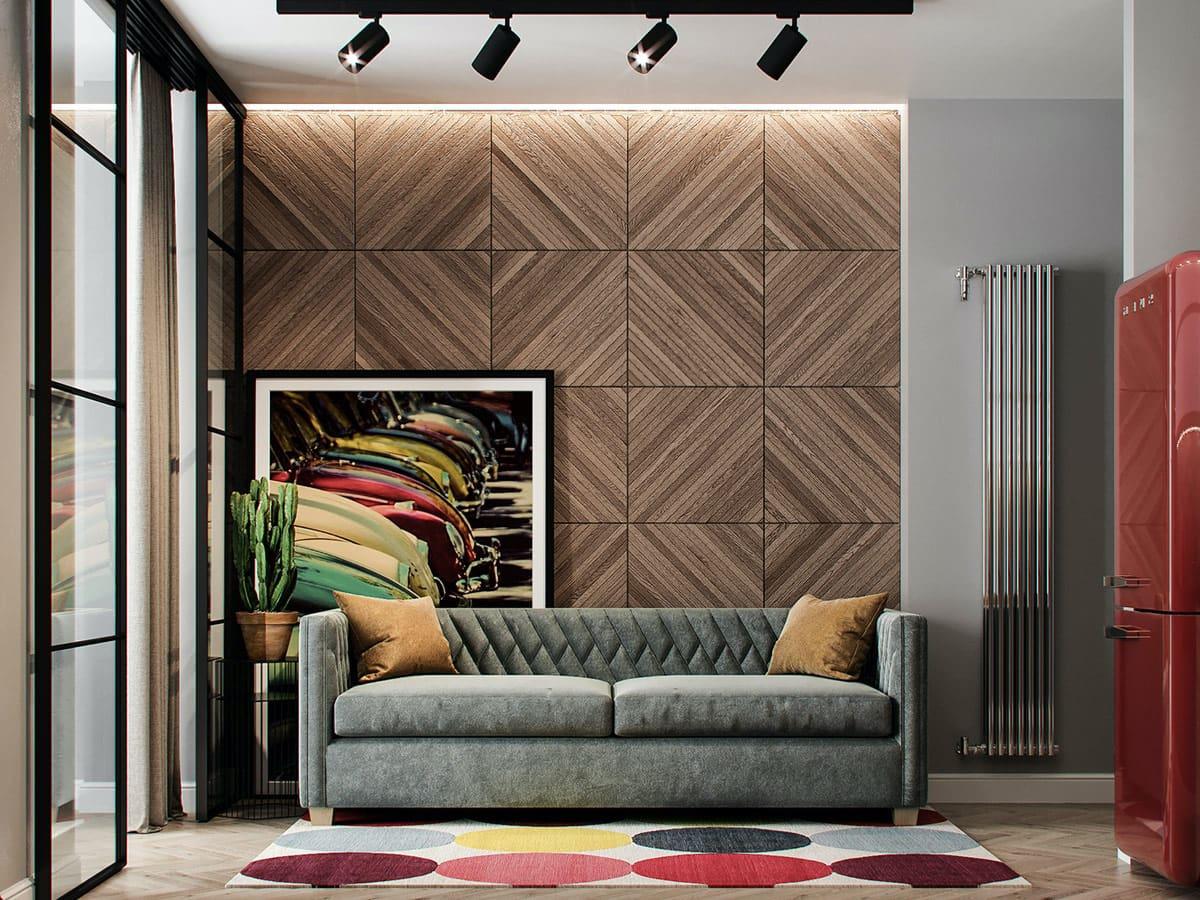 модный дизайн гостиной фото 12