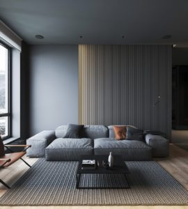 модный дизайн гостиной фото 38