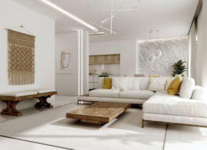 модный дизайн гостиной фото 34