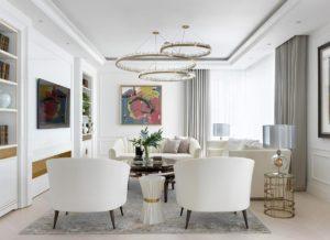 модный дизайн гостиной фото 39