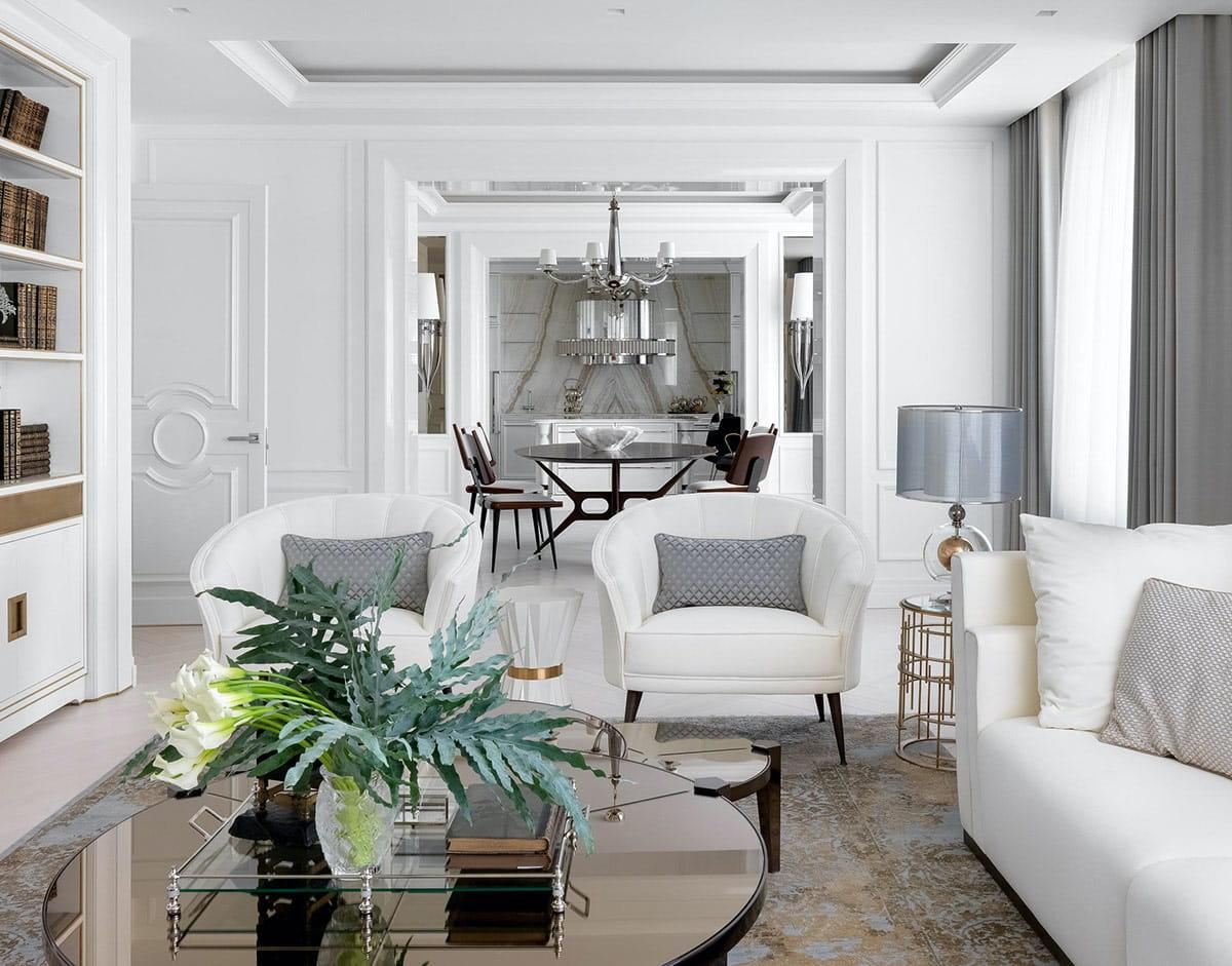 модный дизайн гостиной фото 27
