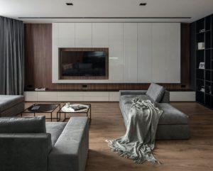 модный дизайн гостиной фото 29