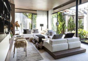 модный дизайн гостиной фото 33