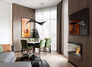 модный дизайн гостиной фото 36