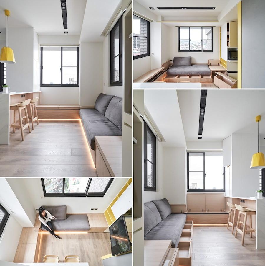 дизайн маленькой квартиры фото 1